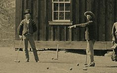 Billy The Kid and Tom O'Folliard