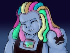 """(Steven Universe - Bismuth) """"At least then I wouldn't have to know how little I mattered to you…"""""""