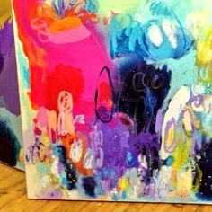 The bottom left corner of my #painting!