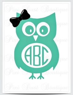 Owl With A Bow Car Yeti Wall Vinyl Decal Vinyls Cars And Owl - Owl custom vinyl decals for car