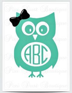 Owl With A Bow Car Yeti Wall Vinyl Decal Vinyls Cars And Owl - Owl custom vinyl decals for car
