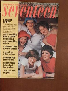 June 1975 Seventeen magazine.  I remember this issue.