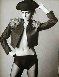 Vogue Spain 1996 Laura Ponte by Mikael Jansson