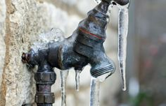 Don't let your outdoor faucets freeze up in the winter. Unattach your garden hoses before freezing temperatures arrive, then close the shut-off valve on the pipes which lead to your outdoor faucets. #plumbingseattle