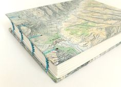 This Italian Alps Map Journal makes a fabulous gift for anyone who loves maps, Italy, skiing, mountains, hiking or travel! Fabulous for jotting