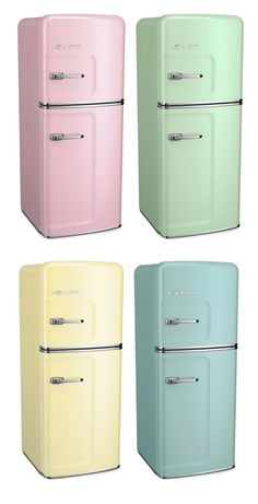 Designing the kitchen of your dreams? � The Big Chill Slim Refrigerator comes in over 200 custom color options, alongside many of our other classic appliances.