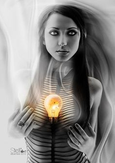 Ideals made from the heart.      Photo Manipulations by Estelle Chomienne