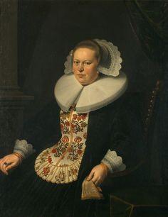 Nicolaes Eliasz Pickenoy, portrait of a lady