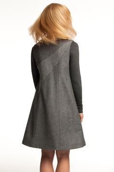 Mette Møller designs simple, feminine clothes for the practical and beautiful woman of today. Simple Designs, High Neck Dress, Beautiful Women, Feminine, Winter, Sweaters, Closet, Dresses, Style