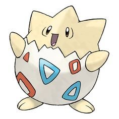 As its energy, Togepi uses the positive emotions of compassion and pleasure exuded by people and Pokémon. This Pokémon stores up feelings of happiness inside its shell, then shares them with others.