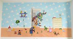 Mural Toy Story.