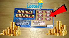 New $4,000 Double Doubler NC Lottery Ticket