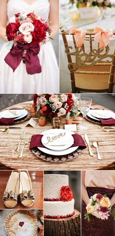 Fall wedding ideas wedding party decor outdoors autumn country. Like the table arrangement