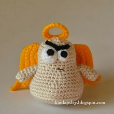 Kim Lapsley Crochets: The Cranky Angel