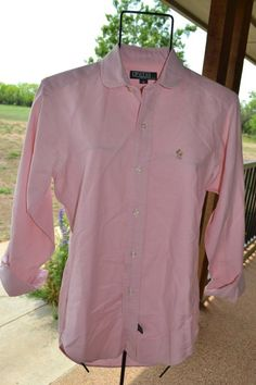 Items similar to Vintage Preppy Ralph Lauren Polo Pink Oxford Shirt, Size Youth Size, Womens XS,Small on Etsy 80s Fashion Men, Old School, High School, Preppy Style, My Style, Lost Horizon, College Years, Pink And Green, 1980s