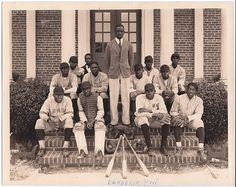 "Title Baseball Team, 1929  Subject Teachers colleges  Sports  Baseball  Publisher Bowie, Maryland. Bowie State University.  Learn more about African American History and Photography at ""Through A Lens Darkly"" TALD documentary and multimedia project - Digital Diaspora Family Reunion DDFR www.DDFR.tv.  Upload and share your own family photographs and stories at ddfrsocialnet.ning.com !"