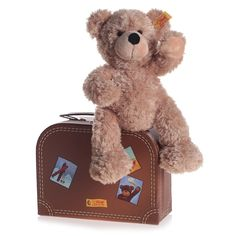 Fynn Teddy in a Suitcase (28cm) - Toys - Baby - Gifts | Childrensalon