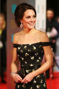La duchesse Kate dérobe le spectacle aux BAFTA de 2017  Photo 4