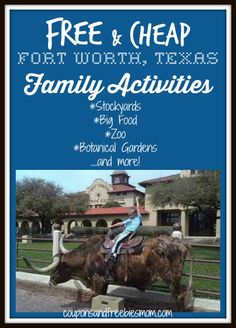 Free + Cheap Fort Worth, Texas Family Activities, #Staycation ideas!
