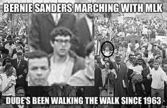 For more than 50 years, Bernie Sanders has continued the fight for human and civil rights! Are you in a closed primary election state? Change your party registration to democrat to be able to vote for #Bernie in the primary elections! Voteforbernie.org #FeelTheBern  Human rights ambassadors change the world, become on at http://www.fuzeus.com