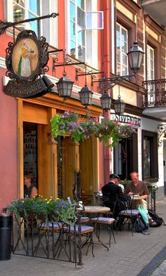 (top 5 coffee shops?) Pilies Kepyklele - Vilnius, Lithuania | by Detlef Menzel