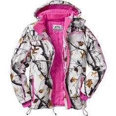 Women's Big Game Camo Snowdrift Softshell Jacket
