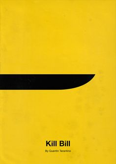 Kill Bill Minimalist Movie Poster Design by Eder Rengifo