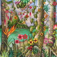 Tropical Paradise  by Chris Cheng completed. Video tutorial posted on my board.
