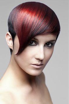 Sanrizz - medium red straight hair styles (21641)