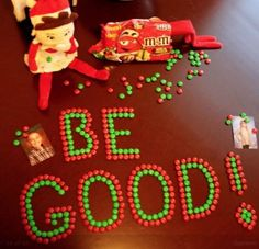 Elf on the shelf - be good!