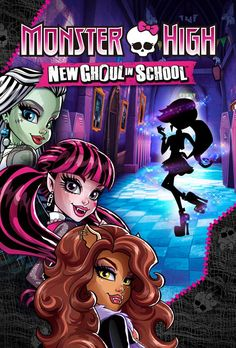 All about Monster High: Monster High: New Ghoul In School