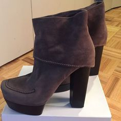 Costume National Foldover Boots