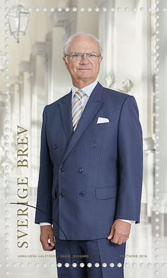 New stamps bearing the portraits of the Royal Couple, Crown Princess Victoria and Princess Estelle will be released on March 17 on the occasion of 40th anniversary of the wedding of King Carl Gustaf of Sweden and Queen Silvia of Sweden and mark the 70th birthday of the King Carl Gustaf.
