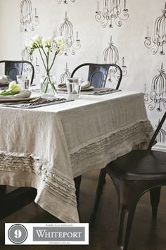 9. Rafelle linen tablecloth $279.95. 40. Bird cage room art $129.95 #WhiteportBingo: Win 1 of 3 Decals from #Whiteport by entering the competition at http://winarena.com.au. Every entrant gets a 20% off #voucher!