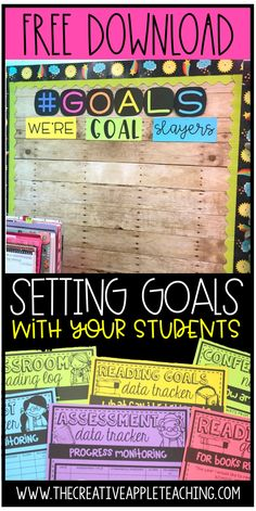 Data Bulletin Boards, Reading Bulletin Boards, Student Goals, Student Data, Learning Goals Display, Kindergarten Goals, Goal Setting For Students, Reading Goals, Guided Reading
