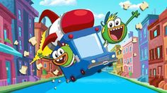 """NickALive!: Nickelodeon USA To Premiere New Animated Series """"Breadwinners"""" Soon; Launches Official Show Website"""