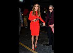 De Tom Ford jurk van Jennifer Lopez is prachtig. De schoenen?
