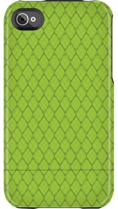 """""""Green Snake Skin"""" by Uncommon for the iPhone 4/4S Capsule"""