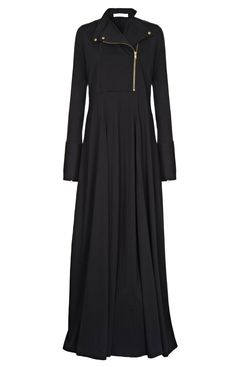 wish they had it in brown. Burqa Designs, Abaya Designs, Abaya Fashion, Modest Fashion, Fashion Outfits, Muslim Women Fashion, Islamic Fashion, Modest Dresses, Modest Outfits