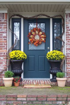 Southern Fried Gal: Fall Door Decor Inspiration