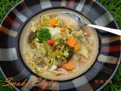 Smaki Edyty: Zupa spalająca tłuszcz z brokułami
