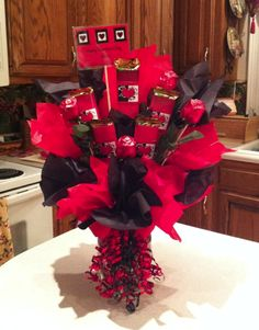 Valentine's day candy bouquet ideas