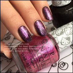 OPI Starry-Eyed for Dear Daniel over Never Have Too Mani Friends!