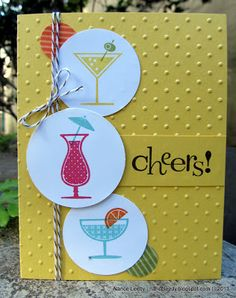 like the sketch - would use something else for focal stamps than drinks tho