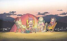 El anime de Yuru Camp△ se estrenará el próximo invierno