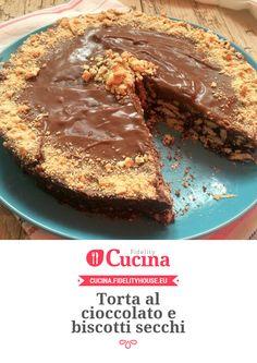 Torta al cioccolato e biscotti secchi della nostra utente Annarita. Unisciti alla nostra Community ed invia le tue ricette!