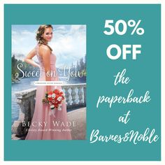 Fantastic price both online at in store at Barnes & Noble! (p.s. I've noticed that Amazon has price-matched and is now also offering the paperback for half-off.)  Great deal for a limited time! #Christian #inspirational #sweet #romance