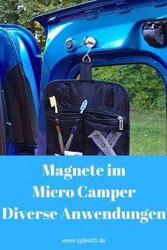 Es ist stockdunkel im Micro Camper. Wir stehen ganz einsam an. Mini Camper, Popup Camper, Truck Camper, Micro Campers, Camping Box, Minivan Camping, Auto Camping, Trailers Camping, Camper Trailers
