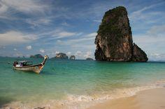 Playa de Railay. Tailandia