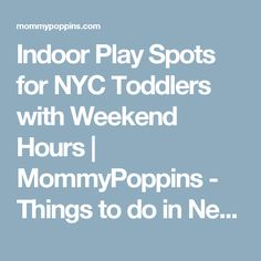 Stunning Indoor Play Spaces Nyc Pictures - Decoration Design Ideas ...